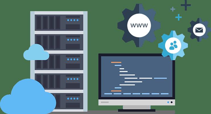 نتیجه تصویری برای hosting